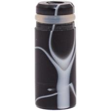Дрип тип Дельярин Мрамор Цилиндр Черный (drip tip 510) PLA13
