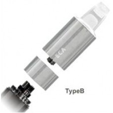 Атомайзер ECA Тип В в комплекте с испарителем и картриджем (Хром и Сталь)