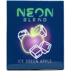 Смесь Neon Blend 50 г Ледяное Зеленое Яблоко (Ice Green Apple) (кальянная без табака)