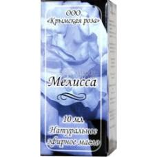 Масло КР эфирное Мелисса 10мл Крымская роза