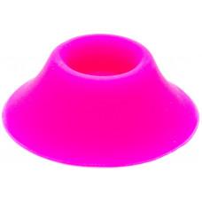 Подставка под аккумуляторы на 1 шт силикон Розовый
