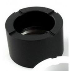 Муфта Декоративная Тип F с воздуховодом (Цилиндр) Черный