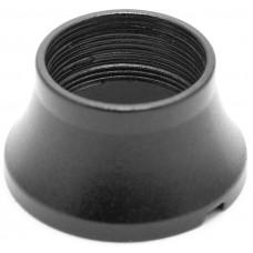 Муфта Декоративная Тип C с воздуховодом (Шляпа) Черный