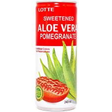 Напиток Lotte Aloe Vera Pomegranate 240 мл