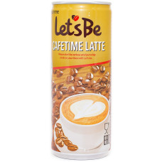 Напиток Lotte Let s Be Cafetime Latte 240 мл