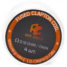 Спираль Hot Coils 4 шт Fused Clapton Coil *Ni 0.16 Ом/пара (0.4*0.1)