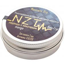 Леденцы NZT v2 Манго 03 мг MANGO LIGHT 25 гр Железная банка