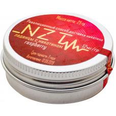 Леденцы NZT v2 Малина 12 мг RASPBERRY STRONG 25 гр Железная банка