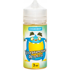 Жидкость Cosmoboy 100 мл Тропические Фрукты 3 мг/мл