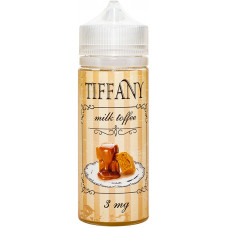Жидкость Tiffany 120 мл Milk Toffee 3 мг/мл