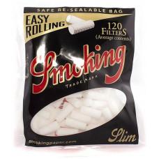 Фильтры для самокруток Smoking Easy Rolling  Slim120 шт