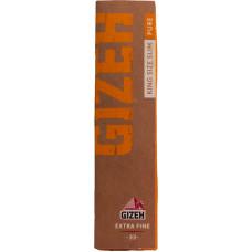Бумага сигаретная GIZEH Pure King Size Slim Extra Fine 33 листа