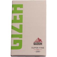 Бумага сигаретная GIZEH Super Fine 100 листов с магнитной защелкой