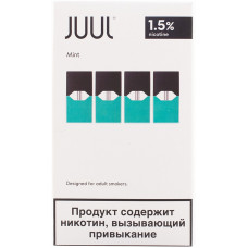 Картридж JUUL Mint 4 шт 0.7 мл 18 мг