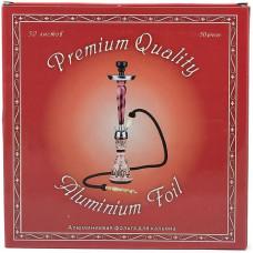 Фольга кальянная Premium Quality 50 листов