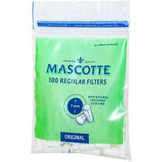 Фильтры для самокруток MASCOTTE Regular Filters 7 мм 100 шт
