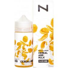 Жидкость Nice 100 мл Cereal and Milk 0 мг/мл