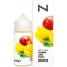 Жидкость Nice 100 мл Mango and Mint 0 мг/мл