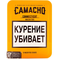 Сигариллы Camacho Connecticut Machitos 1 шт (Гондурас)