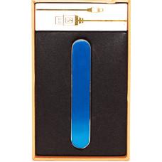 Зажигалка Прикуриватель microUSB Jin Lun HL 701 Синяя