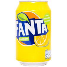 Напиток Fanta Lemon  330 мл