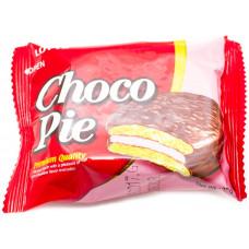 Печенье Lotte ChocoPie Strawberry