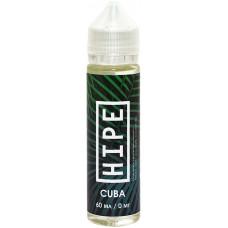 Жидкость Hipe 60мл Cuba 0 мг/мл