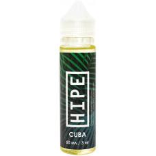 Жидкость Hipe 60мл Cuba 3 мг/мл