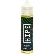 Жидкость Hipe 60мл Cuba 6 мг/мл