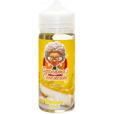 Жидкость Grandmas Cheesecake 120 мл Banana 0 мг/мл