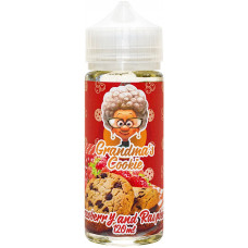 Жидкость Grandmas Cookie 120 мл Strawberry Raspberry 0 мг/мл