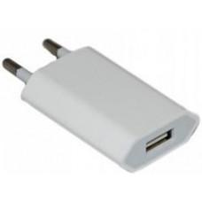 Сетевой адаптер 220V -> USB 1100 mAh белый (iPhone 4s)
