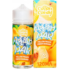 Жидкость Cotton Candy 120 мл Fresh Par Yellow Peach Fresh Banana 0 мг/мл