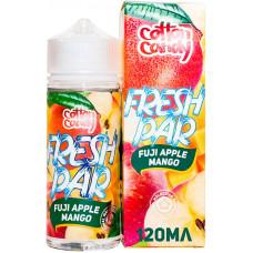 Жидкость Cotton Candy 120 мл Fresh Par Fuji Apple Mango 0 мг/мл