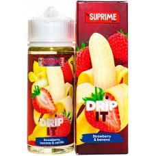 Жидкость Drip It Salt 120 мл Strawberry Banana 3 мг/мл