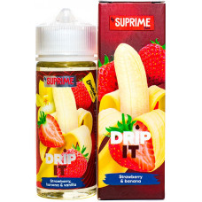 Жидкость Drip It Salt 120 мл Strawberry Banana 6 мг/мл