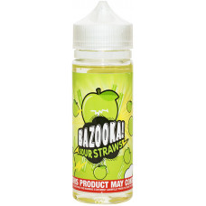 Жидкость Bazooka (клон) 120 мл Green Apple Sour Straws 3 мг/мл