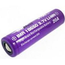 Аккумулятор 18650 Efest IMR 3100 mAh 20А незащищенный  (плоский) LI-MN ВысокоАмперный