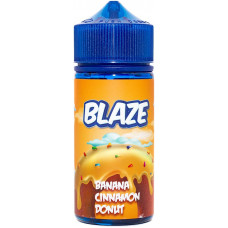 Жидкость Blaze 100 мл Banana Cinnamon Donut 3 мг/мл
