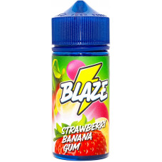 Жидкость Blaze 100 мл Strawberry Banana Gum 3 мг/мл