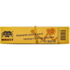 Бумага сигаретная + фильтры Breit Organic Hemp 32 листа