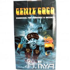 Уголь Джин 112 куб Кокосовый GENIE COCO MYA (22*22*22 мм)