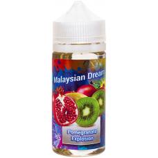 Жидкость Malaysian Dream 100 мл Pomegranate Explosion 0 мг/мл