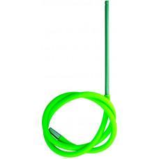 Шланг MYA SILICONE Трубка Металл Зеленый L=140 см H669 SQF