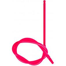 Шланг MYA SILICONE Трубка Металл Красный L=140 см H669 SQF