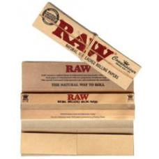 Бумага сигаретная RAW King Size Slim 32 листа + Фильтры RAW 32 листа