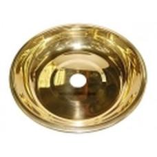 Тарелка золотая d=16см 716232