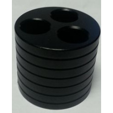 Подставка под аккумуляторы на 3 шт металл (metal Holder-B)