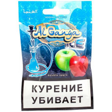 Табак Al Ganga 15 г (Аль Ганжа Айс Два яблока)
