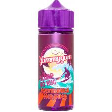 Жидкость Yummygum 120 мл Клубника Жвачка 3 мг/мл